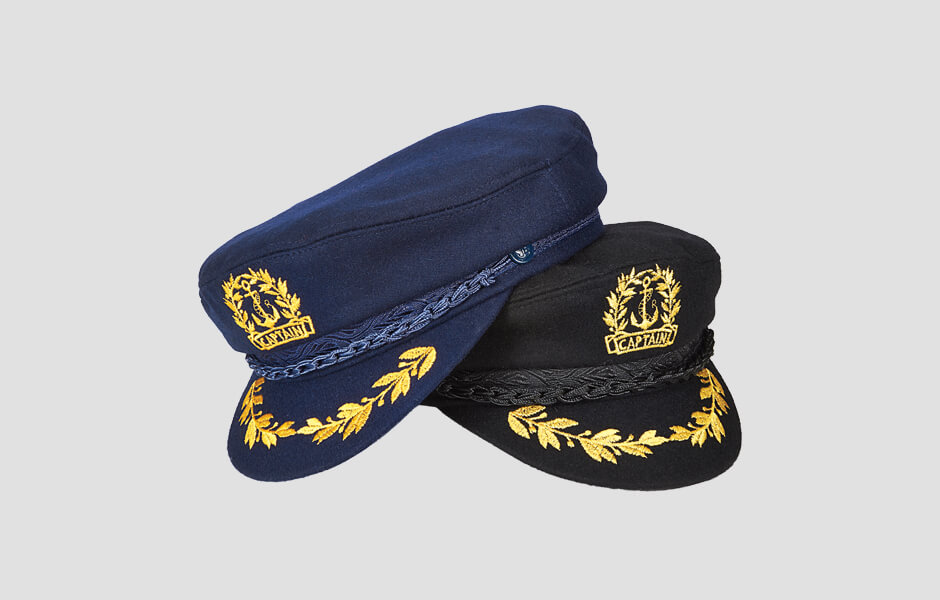 Navy and Black Admiral's Cap, AEG111